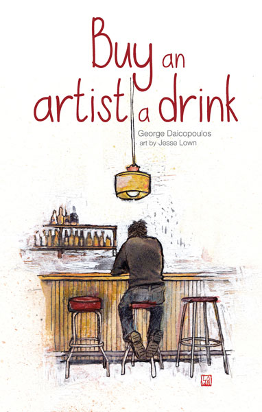 Front cover of Buy an artist a drink